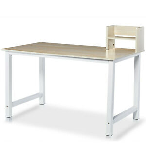 43 Wood Computer Desk Pc Laptop Table Study Workstation Office Home Furniture