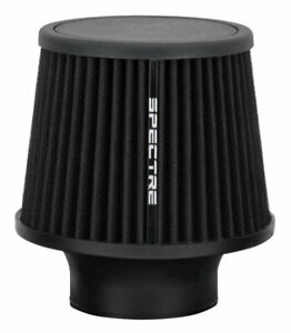 Spectre Performance 9131 Washable Cone Air Filter 3 Clamp On Black