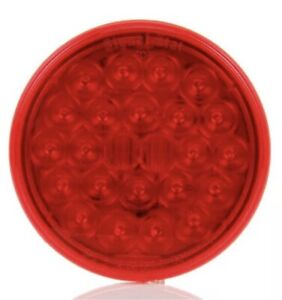 Truck lite 4050 Led Signal Stat S t t 4 Round Light 24 Diode