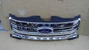 2007 2008 2009 2010 Ford Edge Chrome Grill Grille Oem Used