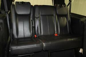 2007 Ford Expedition Leather Black Third 3rd Row rear back Seat Bench Oem