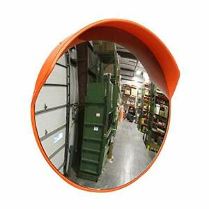 Bisupply Safety Convex Mirror 23 Inch Large Round Outdoor Mirror Blind Spot Mi