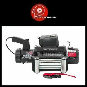 Smittybilt 97495 9 500 Lbs Xrc Gen 2 Series Winch With Steel Cable