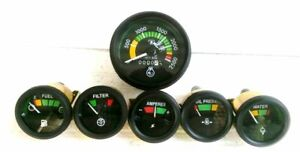 Mf Massey Ferguson 265 285 1135 Tachometer Temp Oil Fuel Amp Filter Gauge Kit