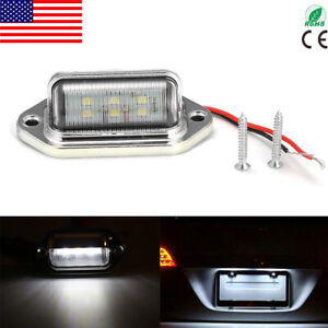 Universal 6 smd Led License Plate Tag Light Lamp For Truck Trailer Waterproof