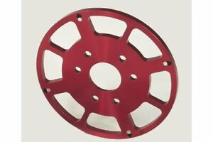 Msd Crank Trigger Replacement Wheel Aluminum Red Anodized Chevy Big Block Ea
