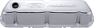 Proform Ford Racing Steel Valve Covers Chrome