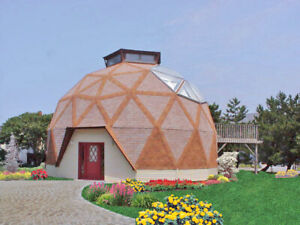 The Calaveras 30 Geodesic Dome Shell Kit Home Delivered Ready To Build