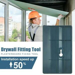 Plasterboard Fixing Tool Ceiling Positioning Plate Installing Drywall Fitting