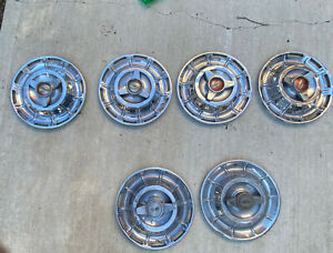 Corvette Vintage Hubcaps 1956 1964 Plus Additional 4 Spinners