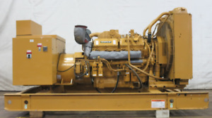 Caterpillar 500 Kw Diesel Generator Cat 3412 Engine 249 Hrs Yr 2000 Csdg 2879