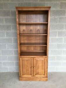 A Ethan Allen Country Colors Bookcase Cabinet Finish 214