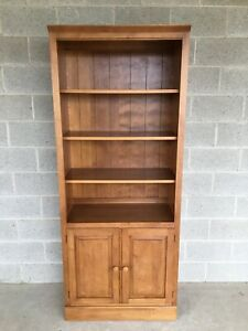 B Ethan Allen Country Colors Bookcase Cabinet Finish 214