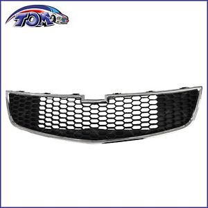 Front Bumper Bottom Grille Middle lower Fits 2011 2014 Chevy Cruze