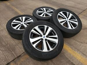 18 Subaru Outback Forester Oem Wheels Rims Tire 68861 2018 2019 2020 2021 5x4 5