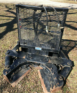 20 Tree Terminator Skidsteer Skid Steer Post Puller Attachment Cutter Forestry