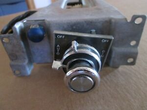 1976 Headlight Switch Ford Mercury Thunderbird Ltd 76