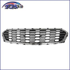 Bumper Face Bar Grille Upper For Chevy Chevrolet Cruze 2016 2018