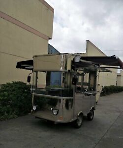 New Stainless Steel Electric Battery Drive Food Cart Never Used
