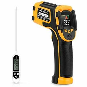 Digital Laser Temperature Gun Infrared Thermometer No Touch With Color Display