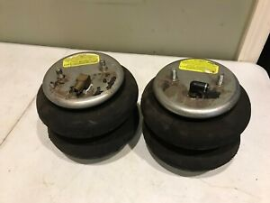 Firestone 2600 Air Ride Air Bags Pair Used Hot Rod Car Truck Lift Lower Bagged