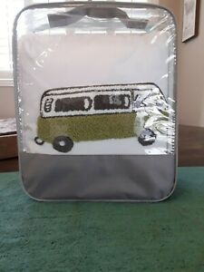 Ink Ivy Young Boy s Decorative Bed Pillow Green Van