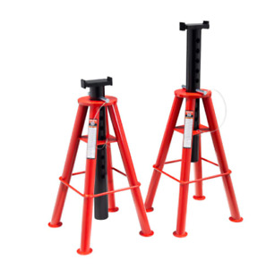 Sunex Tools 1410 10 Ton High Height Pin Type Jack Stands pair