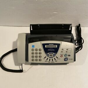 Brother Fax 575 Personal Plain Paper Fax Phone And Copier Machine Office Tested