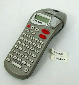 Dymo Letratag Personal Label Maker Silver 2 line Printing 6 Character Lcd 2 d1