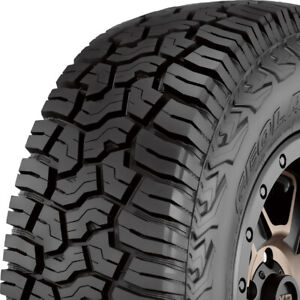 4 New 37x13 50r22 E 10 Ply Yokohama Geolander X at All Terrain Truck Suv Tires