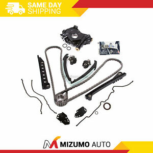 Timing Chain Oil Pump Kit Cover Gaskets Fit 04 08 Ford F150 Lincoln 5 4 3v