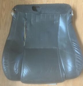 1998 02 Pontiac Trans Am Firebird Gray Front Lower Pass Leather Seat Cover