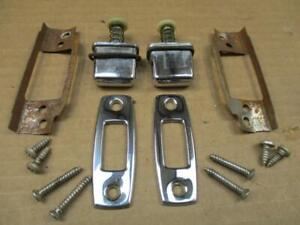 67 68 Chevelle Bucket Seat Push Buttons And Hardware Original Gm