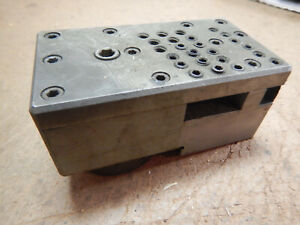 Older Metal Lathe Tool Holder Block Machinist Tooling