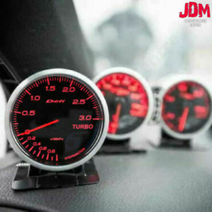 Defi Style Racer Bf 2 5inch Racer 60mm Any 3 Gauges Boost Pressure Oil Temp