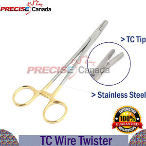 Surgical Sternal Wire Twister Tc Tip 6 Needle Holder Wires Twisting Forceps