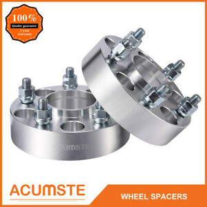 2pcs 1 5 Hubcentric 5x4 75 Wheel Spacers Adapters For Chevy S10 Gmc Pontiac New