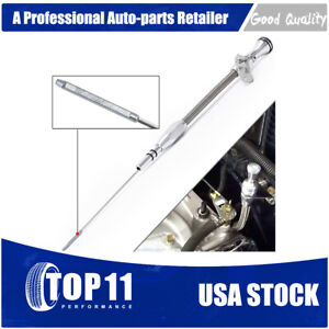 Small Block Sb Flexible Engine Oil Dipstick For Ford 260 289 302 Mustang Sbf
