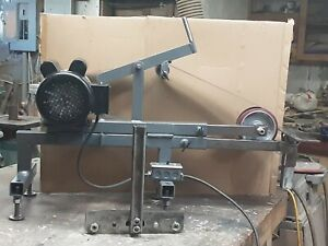 Handmade 2x72 Belt Grinder Vertical Or Horizontal With 2hp Motor With Tool Rest
