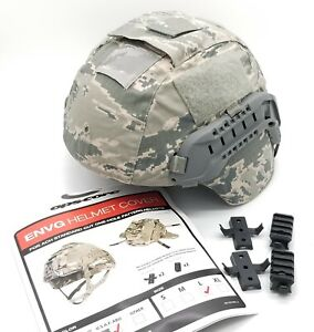 OPS Core ABU ENVG ACH Helmet Cover ARCs Rails LARGE Wing Loc Picatinny Adapter $39.95