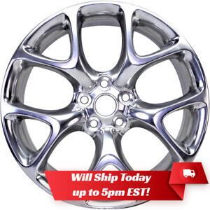 New 20 Bright Polished Alloy Wheel Rim For 2011 2017 Buick Regal 4109