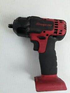 Snap On Ct8810 3 8 Drive Impact Cordless Wrench Gun 18v Li Ion Bare Tool Only