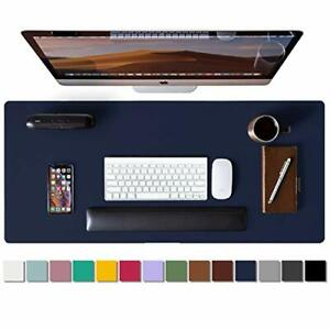 Leather Desk Pad Protector mouse Pad office Desk Mat non slip