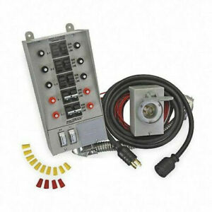 Reliance 10 circuit Transfer Switch Kit For Up To 8000 Watt Generator