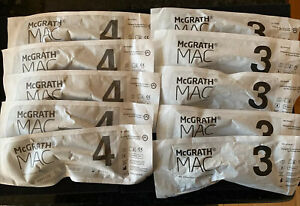 Mcgrath Laryngoscope Mac 3 And 4 Disposable Blades 10 Pack