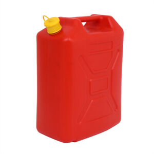 Plastic Jerry Can 5gallon 20l Gas Can Diesel Can Gasoline Bucket Utilityjug Red