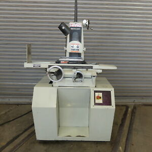6 X 12 Harig Hand Feed Surface Grinder W roller Bearing Table Model