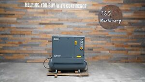 Atlas Copco Gx11ff 15 Hp Rotary Screw Air Compressor W dryer