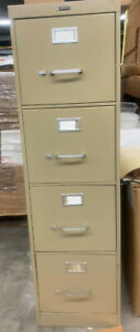 Hon 4 drawer Letter Size Metal Filing Cabinets used Local Pick Up Only