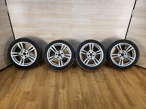 Oem Bmw F30 F32 F33 Front Rear Rims Wheels R18 8j 8 5j M Star spoke 400 Set